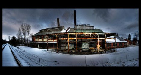 Factory. Winter. I by Jimbob14813