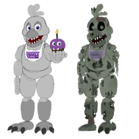 Springlock ''Silver'' Chica by ShadowToyChica