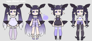 [outfit set] - MutedSona [trade] by hello-planet-chan