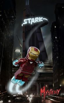 Stark Tower  Lego by MMystery92