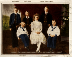 The Children of George V by Livadialilacs
