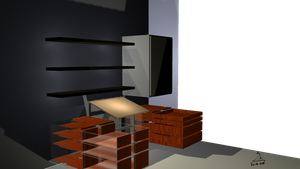 WIP MOM's new Workstation in Maya not Finished yet by kalabadi-hallaj