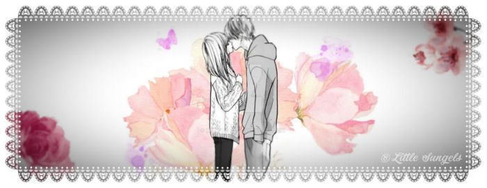Romantic lovers facebook cover by MikuIvalis