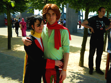 Cosplay- Burgh and Grimsley, save me... by Doctor-Heartstealer