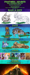 Arven's 2018 Commission Prices by ARVEN92