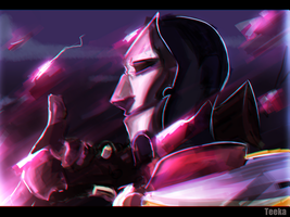Jhin - League of Legends by TeenKase