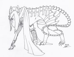 Loup-Robot by Liliandril