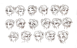 Claire Expressions by chillyfranco