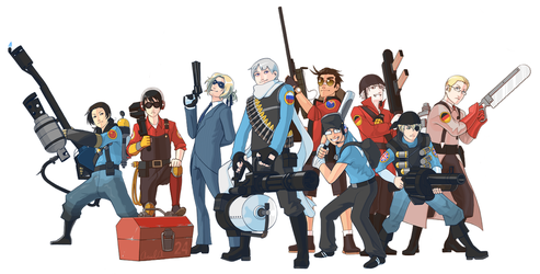 Team Hetalia 2 by spekularyon
