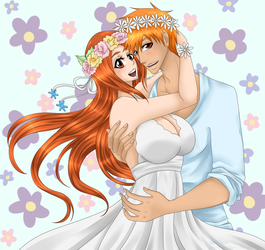 BLEACH: Fresh Flowers [ICHIHIME] by meishiro