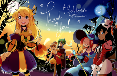 1 Year Solstoria Anniversary! by charmwitch
