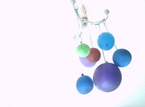 Chandelier Balloons by DoNotFeedTheMax