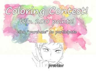 Coloring Contest! Win 200 points! [CLOSED] by Aenea-Jones