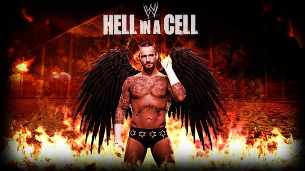 CM Punk Hell in the Cell Wallpaper WWE by ToHeavenOrHell