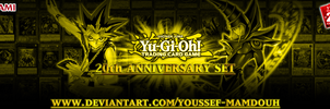 TCG 20th ANNIVERSARY SET Banner [Gold] by Youssef-Mamdouh