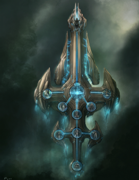 Sword Of Creation by BABAGANOOSH99