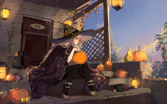 Happy Halloween by Marmaladica
