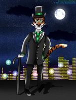 The Dapper Tiger Bandmaster by BlueMario1016