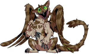 Gift For Potoo-Foolery: Potoo Boogaloo by Rile-Reptile