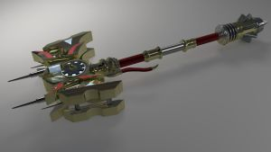 Jayce`s Cannon , the Defender of Tomorrow by Zacko86