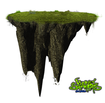 Floating island png by DonkeySneakers