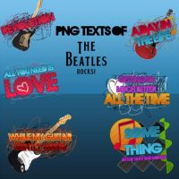 Textos PNG de The Beatles by likeeasoong