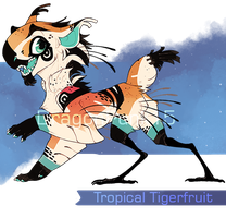 Tropical Tigerfruit by NebNomMothership