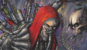 Warhammer 40000 some random tech priest by Theocrata