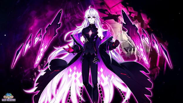 [Elsword 3rd Class] Add:Mad Paradox True Form by JaumDrawings