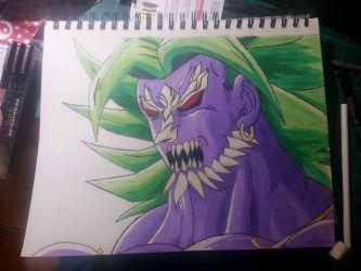 Broly And Doomsday FusionBroly by Keygoshima
