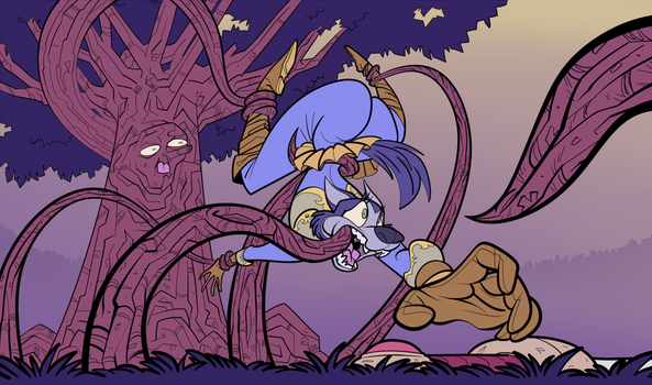 Happy Halloween (by tree) by OddJuice