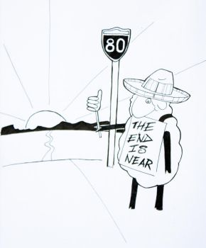 I-80 Sheep by the3rdplanet