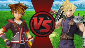 CFC|Sora vs. Cloud by Vex2001