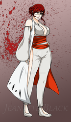 .:Bleach OC:. Timeskip Asuka by Jeanette-Black