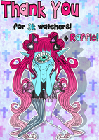 Thank You! 3k+ Watcher Raffle! CLOSED by ObsceneBarbie