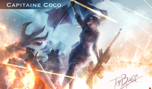 RWBY [WW2 Nations] France - Coco by ThyBlake