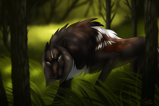 Forest Prowler by InstantCoyote