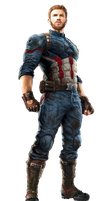 Infinity War Captain America 1 - Transparent by Captain-Kingsman16