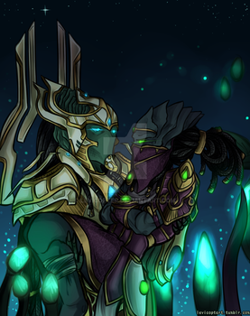 Hierarch and Matriarch by Levicopter