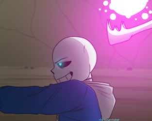 Glitchtale Screenshot Redraw II by The-NoiseMaker