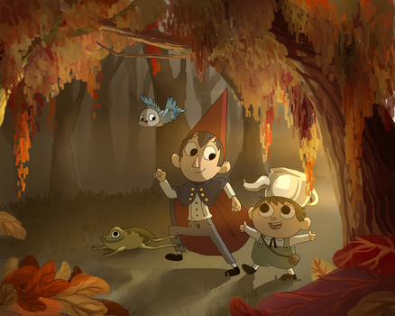 Over the Garden Wall by DoddleFur