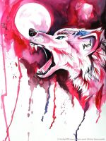 Blood Wolf by Lucky978