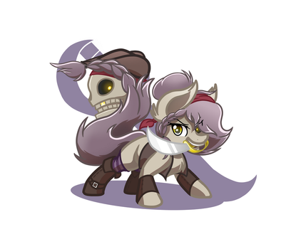 Pair of Pirates (Commission) by Mutant-Horsies