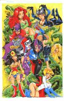 Dc-girls-markers by rantz