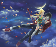 marshall lee X  fiona by EYKIHAN