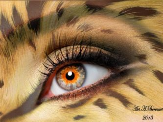 Leopard Eye by annemaria48