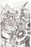 avengers versus onslaught by BienFlores