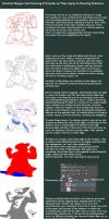 Bargue Drawing Techniques using Pokemon by AngelofBacon