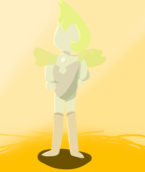 yellow pearl steven universe by enderkiller81