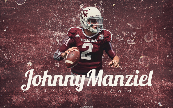 ''Johnny Football'' Johnny Manziel by CoryLevyDesigns